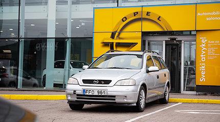 """Rekordas, pasiektas su dyzeliniu """"Opel Astra"""""""