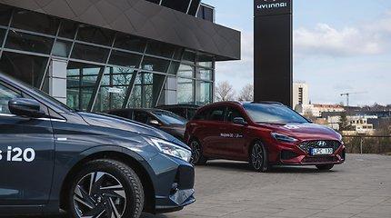 """""""Hyundai"""" i20 ir i30: hečbekai ir universalai"""