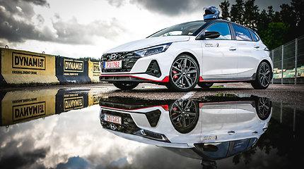 """""""Hyundai i20 N"""" debiutas Lietuvoje – """"Press Ralio"""" varžybose"""