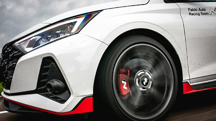 """Pasiruošimas Press raliui su  """"Hyundai i20 N"""""""