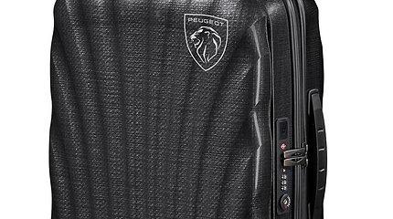"""""""Peugeot"""" drauge su """"Samsonite"""" pristatė rankinio bagažo lagaminą"""