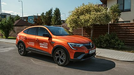 """""""Renault Arkana"""": įkvėptas bavariškų modelių, tačiau paprastesnis"""
