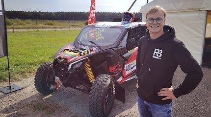 Rokas Baciuška įvardijo dvi sąlygas, kurios lems, ar jis važiuos į Dakaro ralį