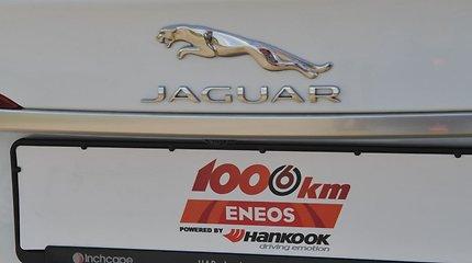 """""""Eneos 1006 km"""" lenktynių saugos automobiliai """"Jaguar"""""""
