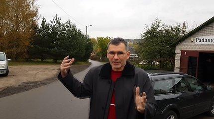 """""""Varžtų karai"""" Vilniaus Jonažolių ir Miškinių gatvėse: medvaržčiais masiškai praduriamos gyventojų padangos"""