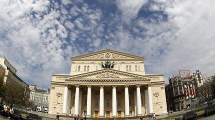 Maskvos didysis teatras evakuotas dėl melagingo pranešimo apie bombą