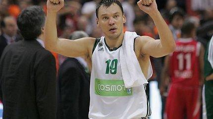 Jasikevičius sužaidė geriausias Eurolygos rungtynes