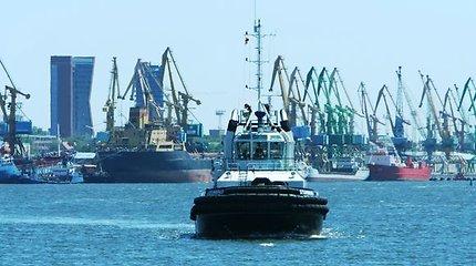 Uoste sulaikytas ukrainiečių laivas