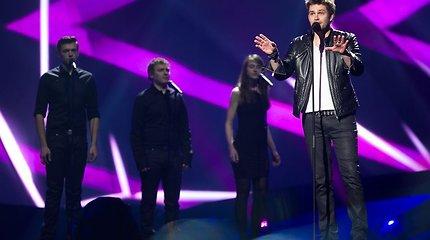 """Andrius Pojavis pirmo """"Eurovizijos"""" pusfinalio repeticijoje – drąsus, užtikrintas ir atsipalaidavęs"""