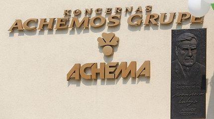 """""""Achemos grupė"""" uždaro spaustuvę ir mokymo centrą"""