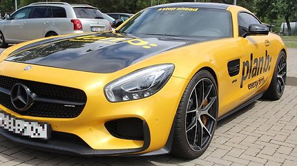"""Medininkų punkte sulaikytas Rusijoje vogtas prabangus automobilis """"Mercedes-Benz"""""""