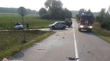 Skausmingiausia rugsėjo 1-osios avarija įvyko tiesioje nuokalnėje: vairuotojai trūko patirties?