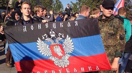 Ukrainos separatistai planuoja sekmadienį apsikeisti kaliniais su Kijevu