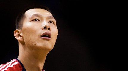 """NBA čempionę """"Mavericks"""" ekipą sustiprino kinas Yi Jianlianas"""