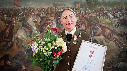 Tokijo olimpinė vicečempionė L.Asadauskaitė apdovanota dar vienu medaliu