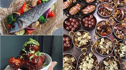 Kokius patiekalus geriausi restoranai tiekia į namus? Nuo didkepsnio ir aštuonkojo iki lazanijos bei spurgų
