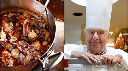 """Legendinio šefo receptas: """"coq au vin"""" pagal Paulį Bocuse'ą"""