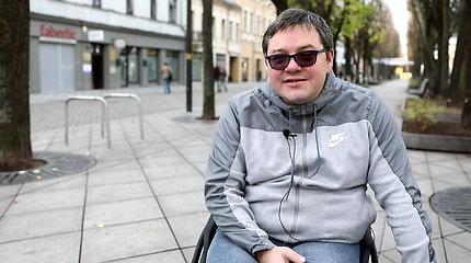 """Audrius Kalvėnas: """"Neįgaliais mus padaro kliūtys"""""""