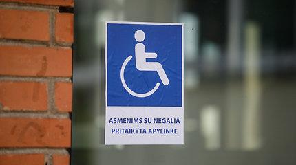Balsavimo patalpos per ateinančius rinkimus privalės būti pritaikytos neįgaliesiems