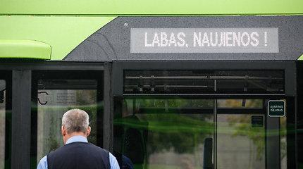 Į Kauno gatves išriedėjo nauji troleibusai