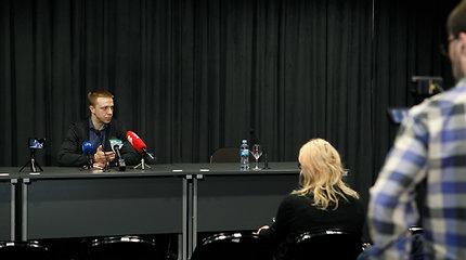 Pauliaus Motiejūno spaudos konferencija