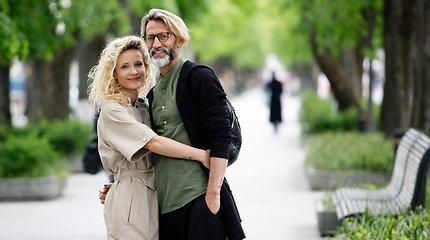 Editos ir Mirko Gozzoli akimirkos Kauno Laisvės alėjoje