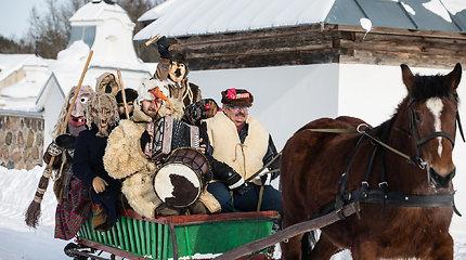 Lietuvos liaudies buities muziejuje surengta Užgavėnių šventė