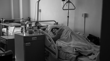 Realybė COVID-19 skyriuje: nepasiskiepiję pacientai aršūs ir ligos nepripažįsta