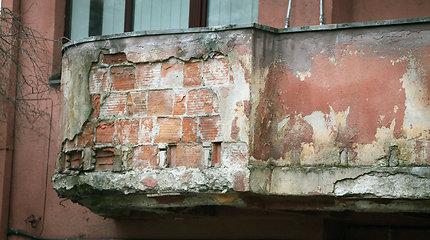 Kauno centro balkonai