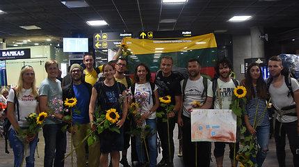 Lietuvių ekspedicija į aukščiausią Europos kalną – Elbrusą
