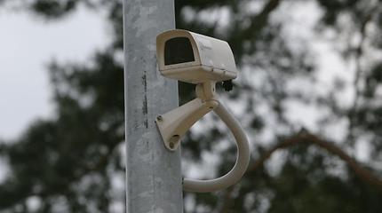 Tūkstantiniai nuostoliai: Klaipėdoje apgadintos vaizdo stebėjimo kameros