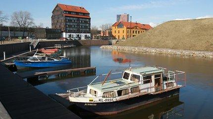 Į Klaipėdos Pilies uostą jau investuota daugiau nei 3 milijonai litų