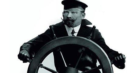 Telšiuose atidengtas kapitono L.Stulpino paminklas