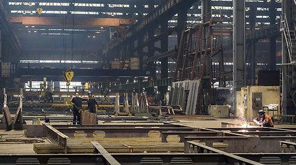 Vakarų laivų gamyklai pusšimtis metų: čia gimsta ir keltai, ir ledlaužiai