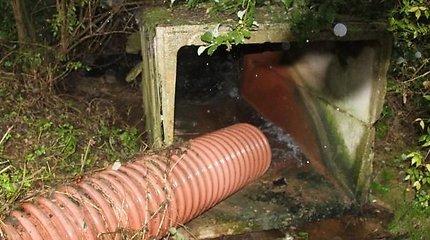 Blogas kvapas privertė sunerimti dėl galimai į kanalą tekančių srutų