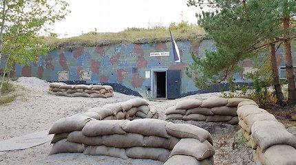 Pajūryje stūgsanti karinė baterija slepia karo sumaištį