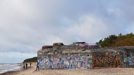 Juodoji pajūrio tvirtovė: 80 metų mininti baterija kviečia paklaidžioti istoriniais labirintais