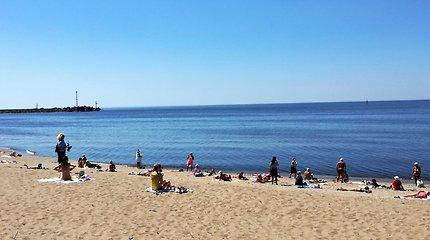 Mėlynosios vėliavos statusas suteiktas penkiems Lietuvos paplūdimiams