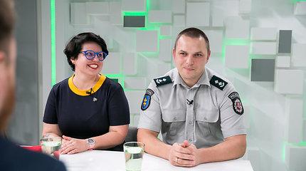 15min studijoje – Mindaugas Akelaitis ir Viktorija Urbonaitė