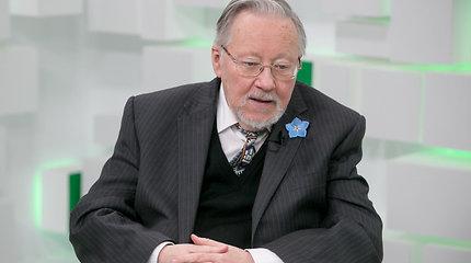 Vytautas Landsbergis: užduotis Lietuvai – stiprinti savo atsparumą savo žemėje
