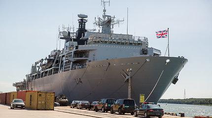 """Pasižvalgykime: Jungtinės Karalystės karališkųjų karinių jūrų pajėgų laivas flagmanas """"HMS Albion"""""""