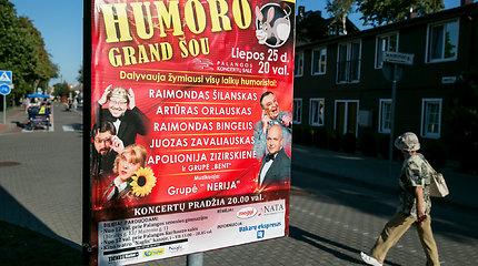 Lietuviško humoro legendų šou Palangoje: bilietai nuo 20 eurų, pokštai kaip prieš 20 metų