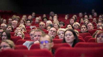 """Algimanto Puipos filmo """"Kita tylos pusė"""" premjera"""