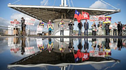 Komunistinio teroro Kinijoje aukų paminėjimas Vilniuje