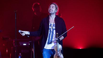 Smuiko virtuozo Davido Garreto koncertas Vilniuje