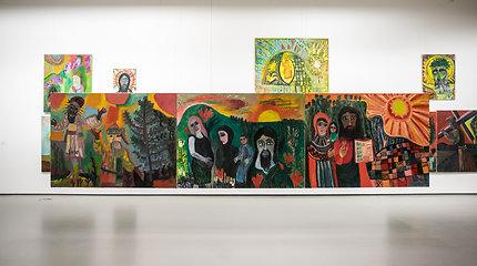 """Nacionalinėje dailės galerijoje atidaryta paroda """"Dirbtuvė. Kūrinio genezė. Augustinas Savickas"""""""