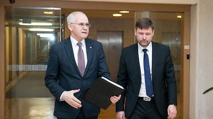 Algirdo Monkevičiaus ir Andriaus Navicko komentarai po susitikimo su premjeru