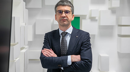"""""""Girteka Holding"""" vadovas E.Liachovičius – apie tikslą augti dvigubai ir vairuotojų darbo sąlygas"""
