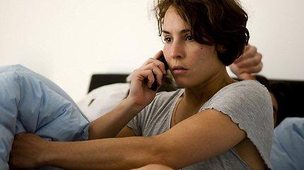 """Filme """"Anapus"""" – kitas garsiausios švedų aktorės Noomi Rapace veidas"""