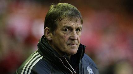 """""""Liverpool"""" futbolo klubas atleido trenerį Kenny Dalglishą"""